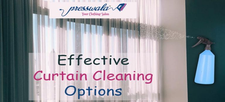 Effective Curtain Cleaning Options